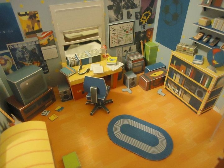Andy s Room Diorama by Chris Kastrinos. Gallery   Category  Andy s Room   Toy Story