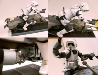 Scout Trooper and Speederbike build by Vin Jung