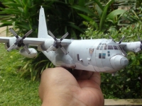 AC-130U Spooky Gunship build by Julius Perdana