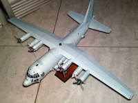 AC-130U Spooky Gunship build by Pras Purnomo