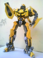 Bumblebee build by Arman Inra Lana