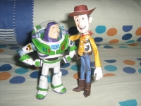 Buzz and Woody by Jo Purnomo