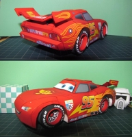 Lightning McQueen by Iro Dorry