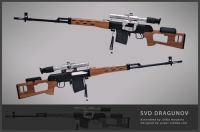 Dragunov Sniper Rifle by Dikki Liem