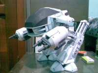 Robocop ED-209 build by Kemal Tri Cahyono Saswito