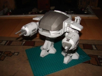 Robocop ED-209 build by Tony Sanger