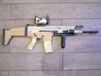 FN SCAR-L build by Nicolas Milet