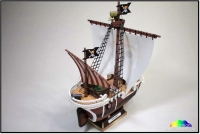 Going Merry Ship build by Tae Kyung Kim