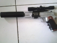 Hitman Silverballer build by Gumilar Farto Siswoyo