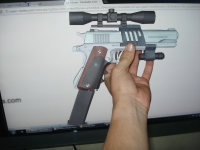 Hitman Silverballer build by Renato Macedo