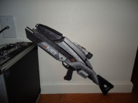 Mass Effect M8 Rifle by Kevin Chapman