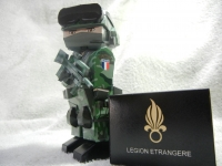 French Foreign Legion Papersoldier build by 曾基歪 (Taylor)