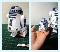 R2D2 build by Iro Dorry