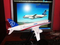 Sukhoi Superjet 100 build by Panji Nugroho