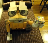 WALL E build by Chris Kastrinos