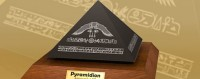 Amenemhet III - Black Granite Pyramidion Paper Model