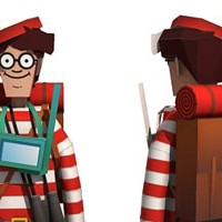 Where's Wally - Waldo paper craft