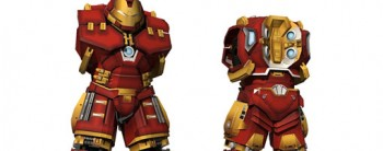 Hulkbuster Paper Model - Hip and Leg