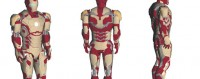 Iron Man Mark XLII - Iron Man 3 Paper Model Part 3 (FINAL)
