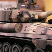 FV101 Scorpion Light Tank Papercraft