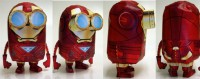 Minion - Iron Man Mark VI Paper Craft