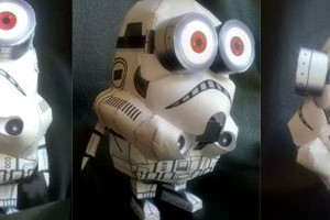 Star wars minion Papercraft