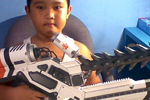 Built D-9 Rifle by Adhiwidjajanto
