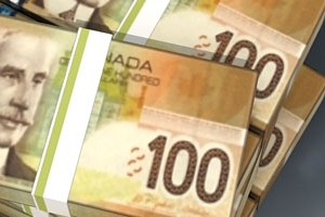 Canadian Dollar Money Papercraft