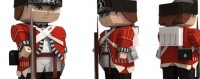 The British Grenadiers Paper-Soldier