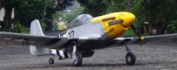 P-51D Mustang RC Plane
