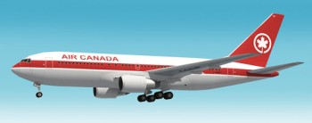 Boeing 767-200 Air Canada Papercraft