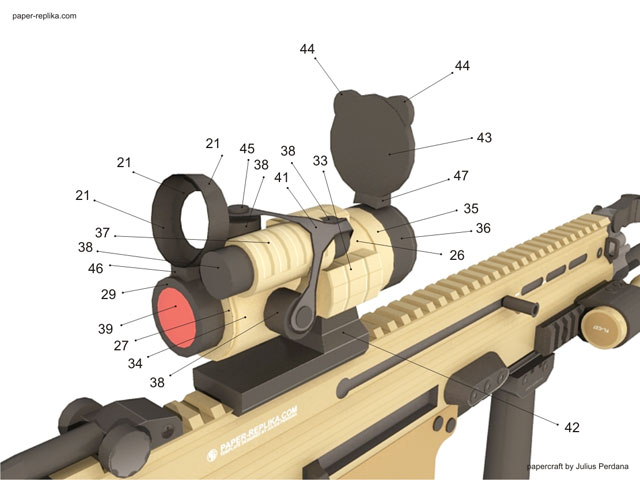 how to assembly - aimpoint scope