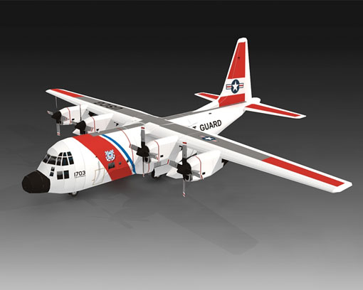 US Coast Guard HC-130H