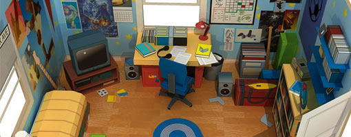 Andy S Room Diorama Toy Story 3 Papercraft