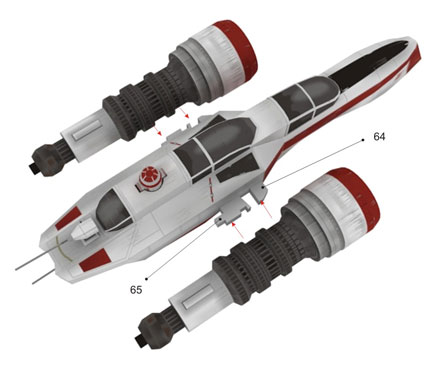 ARC-170 Fighter - STARWARS