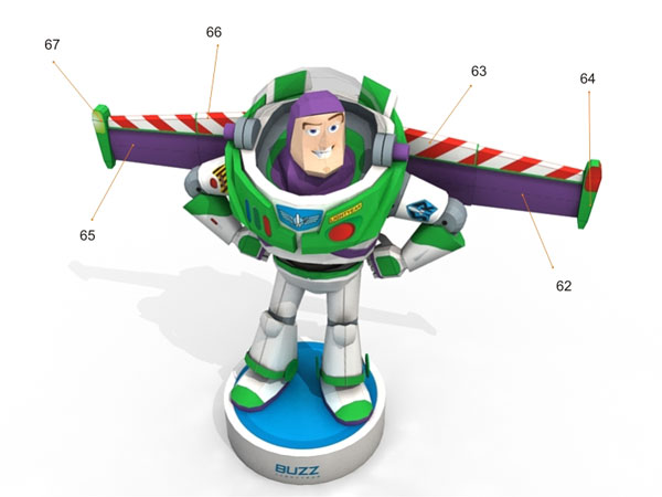 Buzz lightyear toy story papercraft pronofoot35fo Gallery
