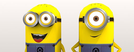 Minions despicable me papercraft say despicable its so funny i watched it many times until i found out this movie is brand new movie and i think i better make them in papercraft toneelgroepblik Images