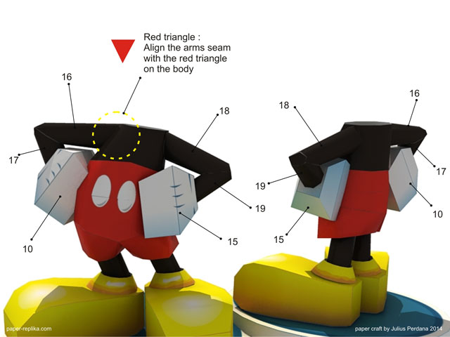 Mickey mouse paper craft you must agree on document license agreement page first choose agree on the radio button then you will proceed download pronofoot35fo Gallery