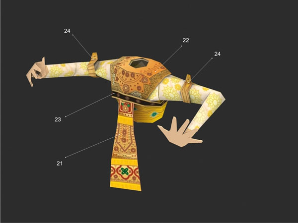 Legong Dancers Instructions