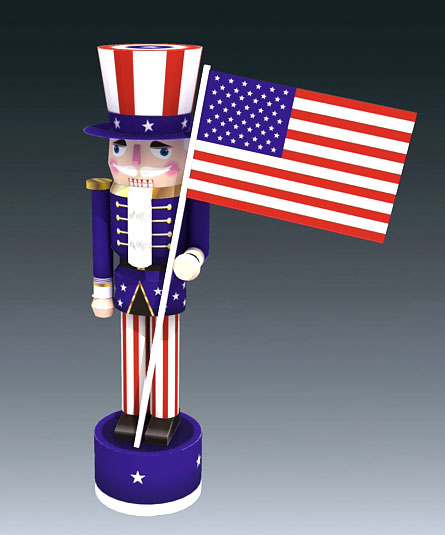 4th of July Nutcracker