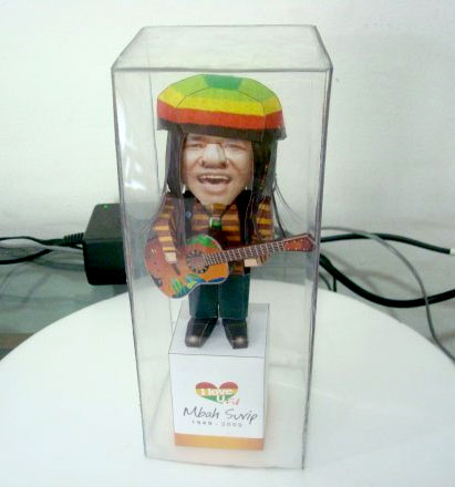 Mbah Surip Tribute Papercraft