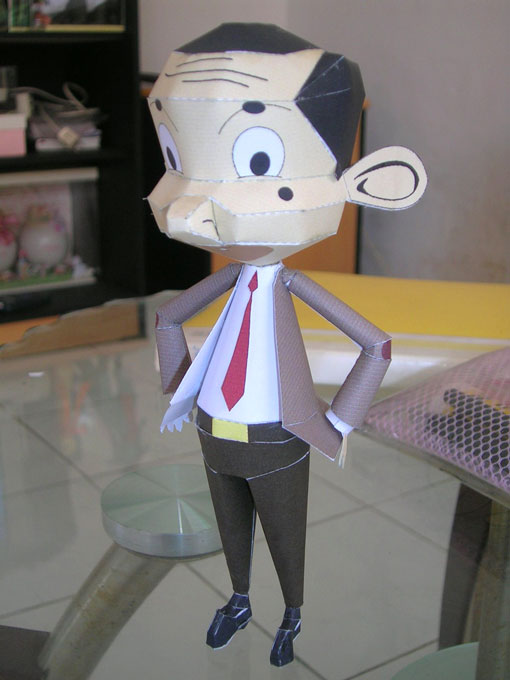 Mr Bean Papercraft - Jemmy