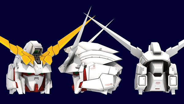 Unicorn Gundam Paper Model