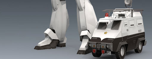 Command Car Type 97 - Patlabor
