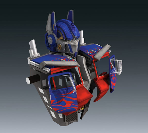 Optimus Prime Part 2C