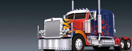 Peterbilt 379 - optimus-prime Vehicle Mode