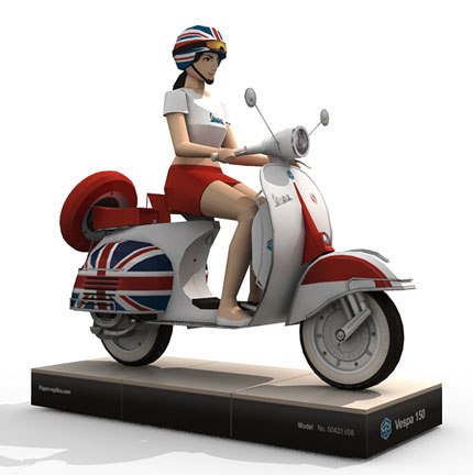 Vespa on This Model Is An Additional Model For Vespa 150 Scooper