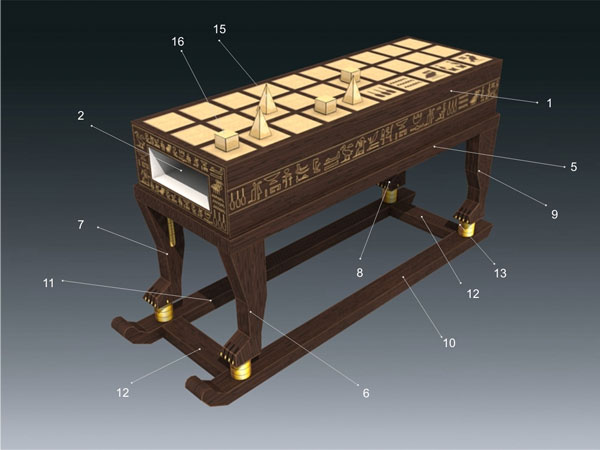 Senet instructions 1