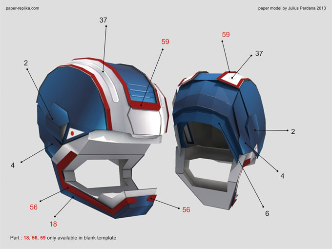 Iron patriot iron man 3 paper model part 1 you must agree on document license agreement page first choose agree on the radio button then you will proceed download pronofoot35fo Image collections