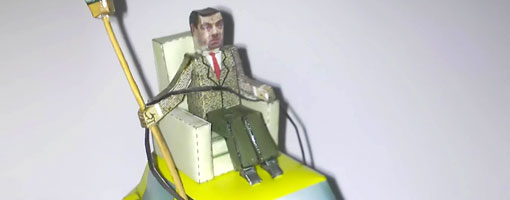 Mr bean and his car paper craft do it yourself mran it looks like this episode is happen before christmas because i remember after christmas and new years party when he blows up the paint can to color his solutioingenieria Gallery